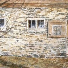 J.H. Hoppe 1848 | Watercolor | 12x39
