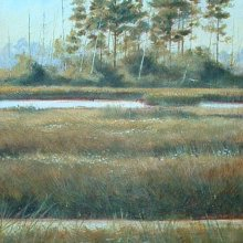Summer Marsh | Acrylic | 8x10 | SOLD