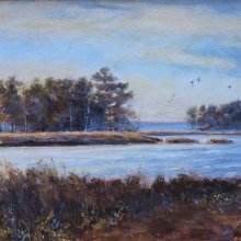 South At Eastern Bay | Acrylic | 9x12 | SOLD